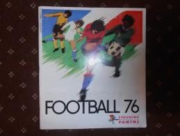 ALBUM   Images    PANINI   :    FOOTBALL   76   -    Incomplet   -   Bon  état  - - Books