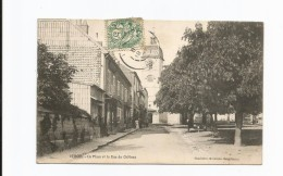 VERCEL  -  La Place Et La Rue Du Château - France