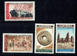 1967  Congrès De Pré-histoire  Série Complète  ** - Central African Republic