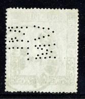1949  Centenaire Du Timbre Belge 1,75fr  COB 808   Perforé ML / VM - Perforados