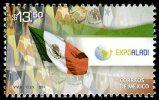 MÉXICO Expo ALADI 2014 La Asociación Latinoamericana De Integración FLAGS Stamp MNH - Mexico