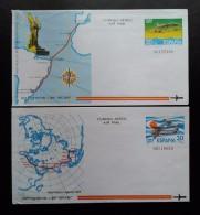 ESPAÑA 1981. AVIONES - AVIACIÓN. 2 AEROGRAMAS. NUEVO. - Aviones