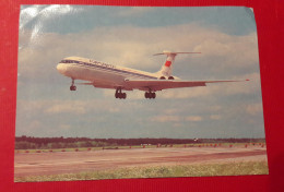 Russia  Aeroflot IL 62 Iljusin 62 Airplane Aircraft  Mint Postcard Photo - 1946-....: Moderne