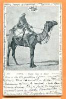 FAW-27  Voyage Dans Le Désert. Précurseur. Cachet 1905 Vers La Suisse - Egypt