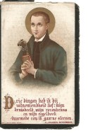N33.  EERWAARDEN  PATER  ELECTUS  (F.R.  DE BRUIN)   - °´S GRAVENHAGEN 1828  /  +MAASTRICHT 1890 - Images Religieuses