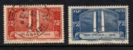 """France   1936   """"Canadian War Memorial""""   SET    FU   (0) - France"""