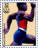 Sc#3068m 1996 USA Olympic Games Stamp-Sprinting Athletic - Summer 1996: Atlanta
