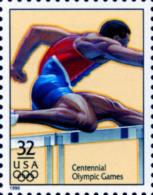 Sc#3068p 1996 USA Olympic Games Stamp-Hurdles Athletic - Summer 1996: Atlanta