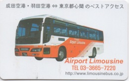"""Airport """"Limousine"""" Bus - Tokyo Japon : Carte Remise 5% à La Boutique Japan Duty Free - Other"""
