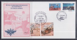 Australia 1988 Royal Flying Doctor Service Of Australia Outback Airmail, Old Telegraph Station, Cover - Australia
