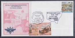Australia 1987 Royal Flying Doctor Service Of Australia Outback Airmail, Tibooburra, Cover - Australia