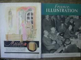 France ILLUSTRATION 54 PROCES NUREMBERG / DRANCY / GRECE / FESTIVAL CANNES/ ALGERIE 12 Octobre 1946 - Journaux - Quotidiens