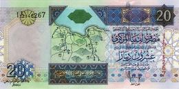 LIBYA 20 DINARS ND (2008) P-67b UNC [ LY534b ] - Libya