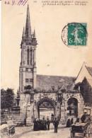 CPA SAINT JEAN DU DOIGT 29 - Le Portail De L'église - Saint-Jean-du-Doigt