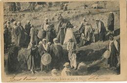 Esneh Haute Egypte Jour De Fete  Envoi De Port Said 1905 Vers Tournon Ardeche - Egypt