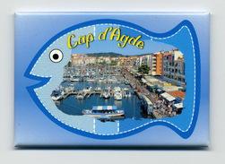 Magnet Cap D'Agde - Tourisme