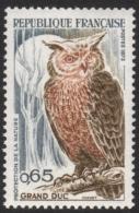 France Owl Stamp Mnh - Owls