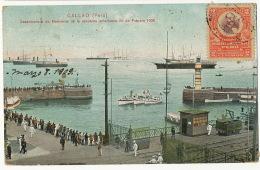 Callao Desembarque De Marineros Escuadra Americana 26/2/1908 American Navy Used To Cuba Edicion 191 Polack Schneider Lim - Pérou