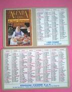 CALENDARIETTO 1990 EDIZ. PIEMME AGENDA CASA SUOR GERMANA - Formato Grande : 1981-90