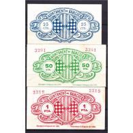 TGNBYMA6204-LBTBIMGC0166-C.BILLETES DE TERUEL  DE LA GUERRA CIVIL. 50 CENTIMOS 1937. AYUNTAMIENTO DE BALAGUER - 1-2 Pesetas