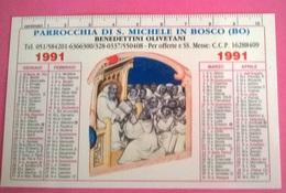 CALENDARIETTO 1991 PARR. S.MICHELE IN BOSCO BO - Calendari