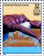 Sc#3068q 1996 USA Olympic Games Stamp-Swimming Athletic - Summer 1996: Atlanta