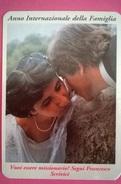 CALENDARIETTO 1994 ANNO INTERNAZ. DELLA FAMIGLIA - Calendari