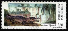 Argentina Argentine Argentinien 1987. ** MNH. Crocodile Krokodil Caiman Kaiman Caïman - Sonstige
