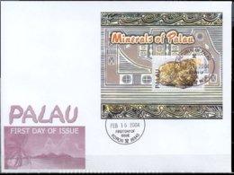 Palau 2004 Sheet -Minerals #760 FDC - Palau