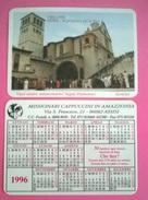 CALENDARIETTO 1996 ASSISI IN PREGHIERA PER LA PACE - Calendari