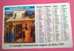 CALENDARIETTO 1997 OPERA VOCAZIONI DOMENICANE BOLOGNA - Calendari