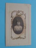 Souvenir COMMUNION Solennelle Denise DESCAMPS Baisieux 18 Mars 1934 ( Zie Foto´s Voor Detail ) ! - Menus