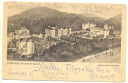 PURKERSDORF SANATORIUM RARE COLOR YEAR 1921 - Unclassified
