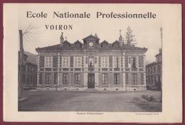 030716 PLAQUETTE - VOIRON ECOLE NATIONALE PROFESSIONNELLE - Photos - Programmes