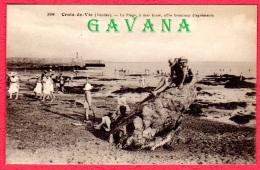 85 CROIX-de-VIE - La Plage, à Mer Basse, Offre Beaucoup D'agréments - Saint Gilles Croix De Vie