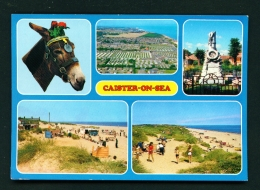 ENGLAND  -  Caister On Sea  Multi View  Used Postcard - Angleterre