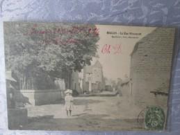 BRICON .  LA RUE MIRAMONT - France