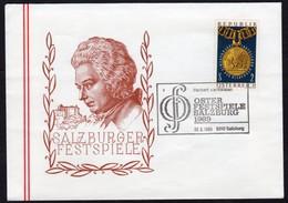 Mozart Austria Cover Salzburg 1969 - Celebrità