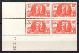 1 / France Coin Daté  N° 423 Neuf XX MNH  , Cote :  80,00 € , Album 12 - 1950-1959