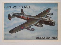 Lancaster    / Polish Postcard - 1939-1945: 2. Weltkrieg