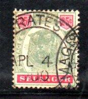 T72 - SELANGOR 1895 , Ordinaria Yvert  N. 17  Usato - Selangor