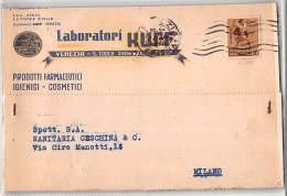 15183  REPUBBLICA SOCIALE RSI LABORATORI KUFF VENEZIA X MILANO - Italie