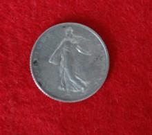 1 Franc  Semeuse 1918 - H. 1 Franco