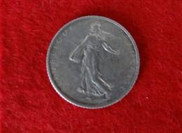 1 Franc  Semeuse 1919 - H. 1 Franco