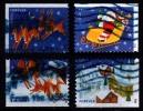 Etats-Unis / United States (Scott No.4712-15 - Noël / 2012 / Christmas) (o) P2 Série De 4 / Set Of 4 - Used Stamps