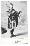 JERSEY Pipe Major 2nd Highland Light Infantry Gros Plan Musicien  Joueur De Cornemuse - Jersey