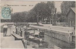 D94 - SAINT-MAURICE - L'ECLUSE (PENICHE BARQUE) - Saint Maurice