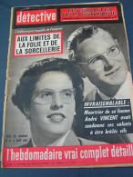Détective 1962 857 CAVIGNAC LOUHANS TOUQUET FOUGèRES BIENNE ST JEAN BONNEFONDS SAINT MALO LE TOUQUET - Newspapers