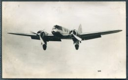 Aeroplane Aircraft RP Postcard / Real Photographic Company, Coopers Buildings, Church Street, Liverpool - Liverpool