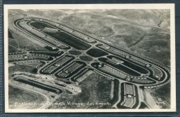 1932 USA Los Angeles Olympics / Airplane View Of Olympic Village RP Postcard - Olympic Games